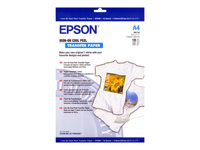 Epson Cool Peel T-Shirt - A4 (210 x 297 mm) 10 uds. papel de transferencia sobre tela - para Expression Home HD XP-15000; Expression Premium XP-540, 6000, 6005, 900; WorkForce WF-3620 C13S041154