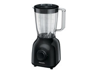 Philips Daily Collection HR2100 - Licuadora - 1.5 litros - 400 W - negro HR2100/90